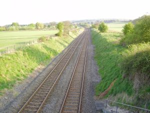 The Railway Line (Back towards The Firecrest)
