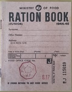 Ration Book 1939